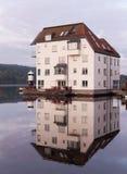 Moderne Wohnungen in Stockholm Lizenzfreie Stockbilder