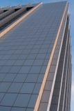 Moderne wolkenkrabber bij zonsondergang Royalty-vrije Stock Fotografie