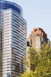 Moderne Wolkenkrabber in de Stad van New York Stock Afbeeldingen