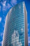 Moderne wolkenkrabber in Frankfurt stock foto