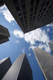 Moderne wolkenkrabbers Royalty-vrije Stock Fotografie