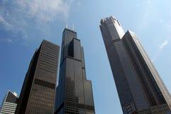 Moderne Wolkenkrabbers royalty-vrije stock foto's