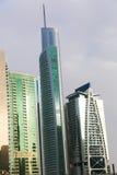 Moderne wolkenkrabbers Royalty-vrije Stock Afbeeldingen