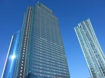 Moderne wolkenkrabbers in Astana Kazachstan Royalty-vrije Stock Afbeelding