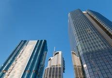 Moderne wolkenkrabbers in Brisbane CBD Stock Fotografie