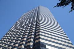Moderne wolkenkrabbers in Dallas van de binnenstad Royalty-vrije Stock Fotografie