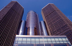 Moderne Wolkenkratzer Lizenzfreie Stockbilder