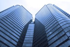 Moderne Wolkenkratzer Lizenzfreie Stockfotos