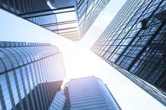 Moderne Wolkenkratzer Lizenzfreies Stockbild