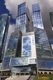 Moderne Wolkenkratzer in Moskau Lizenzfreie Stockfotografie