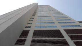 Moderne Wolkenkratzer und hohes Gebäude stockfoto