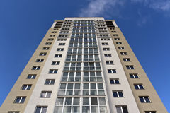 Moderne woningbouw Royalty-vrije Stock Foto