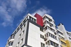 Moderne woningbouw Minsk, Wit-Rusland Stock Foto's