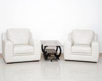 Moderne woonkamer Stock Fotografie