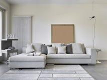 Moderne woonkamer Royalty-vrije Stock Foto's