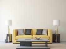 Moderne woonkamer Royalty-vrije Stock Foto