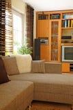 Moderne woonkamer. Royalty-vrije Stock Foto's
