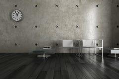 Moderne Woonkamer | Architectuurbinnenland Royalty-vrije Stock Foto's