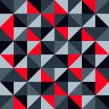 Moderne zeitgenössische Designkunst der nahtlosen geometrischen Mustervektorhintergrundzusammenfassung mit buntem Mosaik wie gepa Stockfotografie