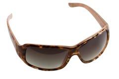Moderne zonnebril met zwarte lenzen. Variant twee. Stock Foto's
