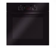 Moderne Zwarte Elektrische Oven het 3d teruggeven Royalty-vrije Stock Foto