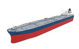 Moderner Öltanker Stockfotografie