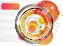 Moderner abstrakter Hintergrund Lizenzfreie Stockfotos
