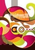 Moderner abstrakter Hintergrund Stockbild