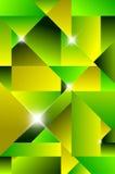Moderner abstrakter Hintergrund des Kubismus Lizenzfreie Stockfotos