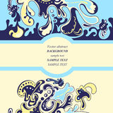 Moderner abstrakter Hintergrund für Ihr Design stock abbildung