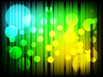 Moderner abstrakter Hintergrund mit karierten Linien und Punkten stock abbildung