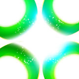 Moderner abstrakter neuer Farbkurvenrahmen Stockbilder