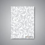 Moderner abstrakter Schablonenplan für Broschüre Lizenzfreie Stockfotos