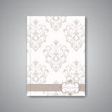 Moderner abstrakter Schablonenplan für Broschüre Stockfotografie
