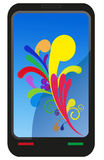 Moderner abstrakter Touch Screen Lizenzfreies Stockfoto