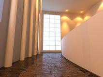 Moderner allgemeiner Innenraum Stock Abbildung