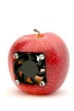 Moderner Apfel Lizenzfreie Stockfotos