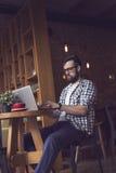 Moderner Arbeitsbereich Lizenzfreies Stockfoto