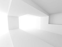 Moderner architektur-Design-Hintergrund Minimalistic Innen stockbilder