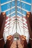 Moderner Architekturinnenraum Lizenzfreie Stockfotos