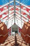 Moderner Architekturinnenraum Stockbild
