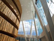 Moderner Architekturinnenraum lizenzfreies stockbild