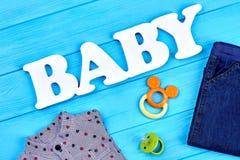 Moderner Arthintergrund des Babys Stockfotografie
