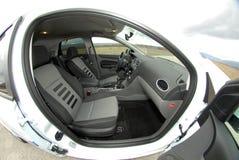 Moderner Autoinnenraum Lizenzfreies Stockfoto
