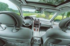 Moderner Autoinnenraum Stockbilder