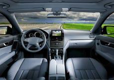 Moderner Autoinnenraum Lizenzfreie Stockfotografie