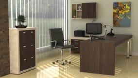 Moderner Büro-Innenraum Lizenzfreie Stockbilder
