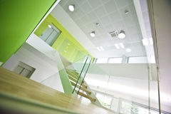 Moderner Büro-Innenraum Stockbilder