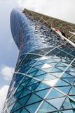Moderner Bürogebäude Turm in Abu Dhabi UAE Stockbilder