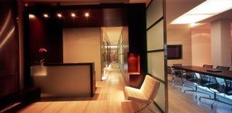 Moderner Büroinnenraum lizenzfreies stockbild
